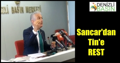SANCAR'DAN TİN'E REST
